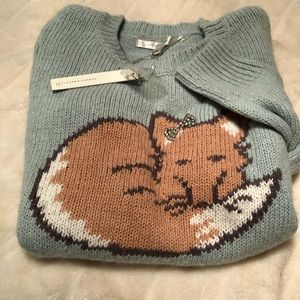 LC Lauren Conrad FOX Sweater